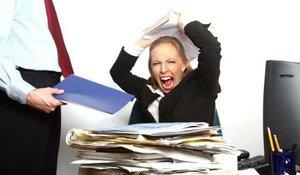 Нервный срыв на работе