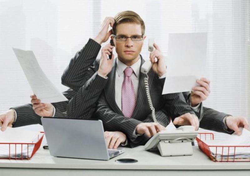 Многозадачность на работе