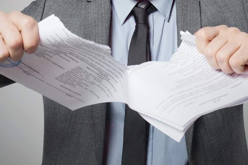 Расторжение договора гпх по инициативе работодателя образец