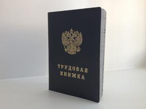 Выдача трудовой книжки