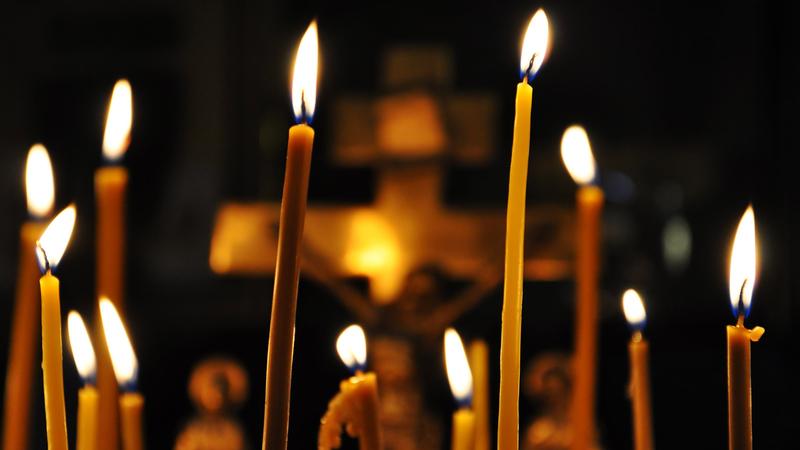 Ритуал на семь церковных свечей