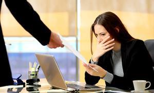 Уведомление об увольнении в письменном виде